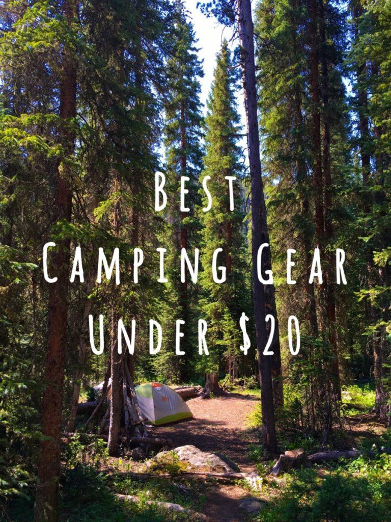 Best Camping Gear Under $20