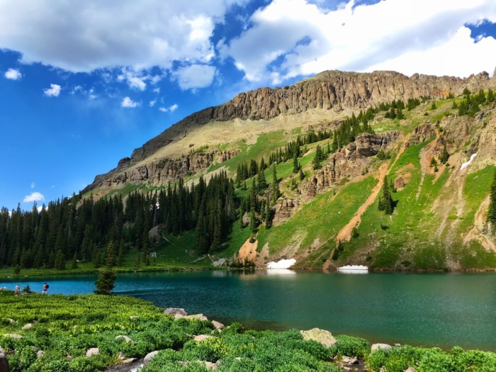 Blue Lakes Hike Near Telluride, CO