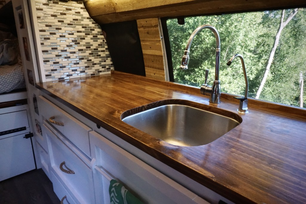 Campervan Sink Plumbing With Water Filtration System Tworoamingsouls