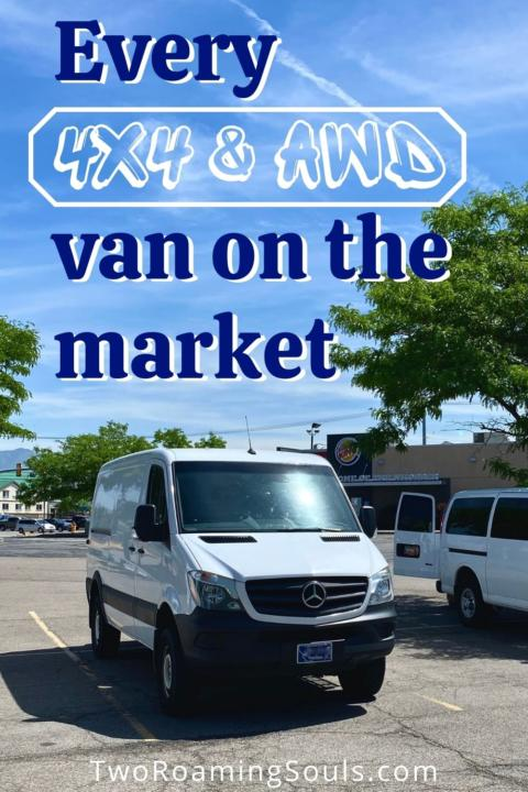 All Vans With 4x4 Or Awd In The Us Tworoamingsouls